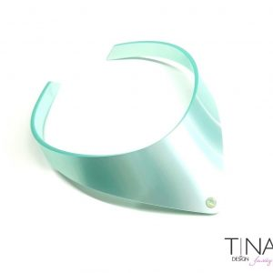 biserno turkizna perl top choker ogrlica by tinadesign